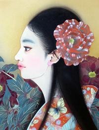日本画二人展-華やぎの色-