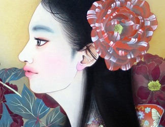 牡丹の乙女 宝居智子 Gallery