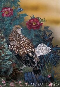 流れ行く時-牡丹鳥図-blog
