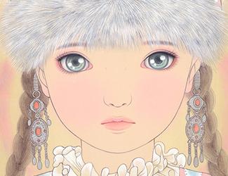 カザフスタンの少女(Kazakhstan Girl) 宝居智子 Gallery