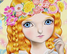 少女の夢は花の中に 宝居智子 Gallery